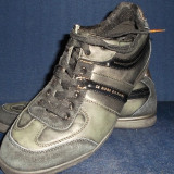VAND PANTOFI HUGO BOSS. - Pantofi barbati Hugo Boss, Marime: 42, Culoare: Negru, Piele naturala
