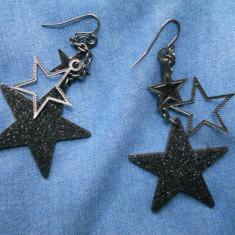 Cercei Fashion - Cercei stele ZARA noi! pret magazin 60 ron!