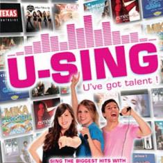 Jocuri WII Altele, Simulatoare, 12+, Multiplayer - U-Sing: U've Got Talent! - Joc ORIGINAL - Nintendo Wii