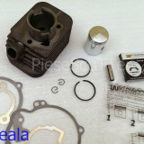 Kit Cilindru / Set motor + Piston + Segmenti Scuter / Moped ( pedalier ) Piaggio / Piagio Ciao ( 49cc - 50cc ) WStandard