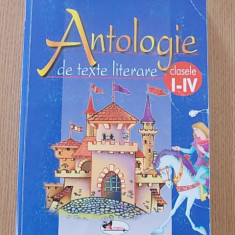 ANTOLOGIE DE TEXTE LITERARE- CLASELE I-IV- ARAMIS-448 PAGINI- ILUSTRATII COLOR - Manual scolar Aramis, Clasa 4, Romana