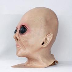 Masca carnaval - Masca extraterestru Alien Halloween petrecere tematica craciun cosplay +CADOU!