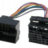Cablu ISO BMW, Citroen, Ford, Mercedes, Opel, Peugeot, Skoda, VW, adaptor ISO, Quadlock-000131 - Conectica auto
