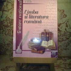 A. Costache - Limba si literatura romana pentru testarea nationala - Carte Teste Nationale