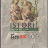 Manual Clasa a IX-a, Istorie - Manual de istorie, clasa a 9-a, a IX-a, autori Brezeanu Stelian