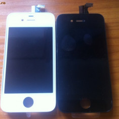 Display LCD, iPhone 4/4S - Lcd iPhone 4 albe si negre, display iphone 4, ecran iphone 4, touch screen NOU