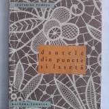 Dantele din puncte si laseta - Martha M. Recht / C36P - Carte design vestimentar