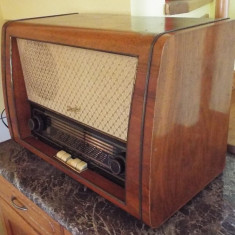 Aparat radio - Radio pe lampi Stassfurt Rienzi 6E 66