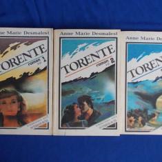 ANNE MARIE DESMAREST - TORENTE * 3 VOLUME - 1992 - Roman dragoste