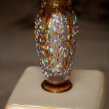 Vaza Murano tip urcior aurie(Outlet) Showroom Classlife - Vaza sticla