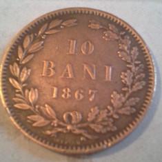 Monede Romania, An: 1867 - 10 BANI 1867 SUPERBA DE COLECTIE
