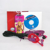 Disney Mix Stick 2.0 - Hannah Montana roz - MP3 pentru copii - MP3 player, 1GB