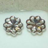 Cercei argint mici - diametru fata aprox. 5-6 mm