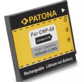 PATONA   Acumulator pt Casio NP-60 NP 60 NP60 Exilim EX-Z22 EX-Z25 EX-Z29 - Baterie Aparat foto