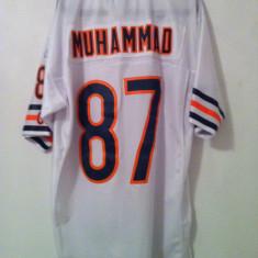 Tricou original NFL Muhammad Reebok, Culoare: Alb, Marime: L, Tricouri