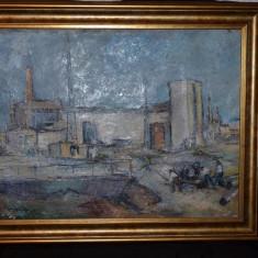 DIMITRIE LOGHIN - Pictura - Ulei pe panza 2 - Profesorul lui Ion Grigore - 1961
