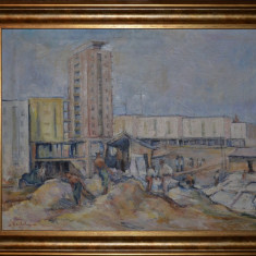 DIMITRIE LOGHIN - Pictura - Ulei pe panza 1 - Profesorul lui Ion Grigore - 1964!