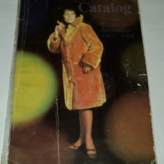 Revista moda - Catalog produse textile si incaltaminte 1967 album moda vechi retro Romania