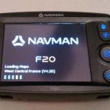 GPS Navman F20, Redare audio, Mesaje trafic (TMC), Touch-screen display, Memorie extensibila, Redare video