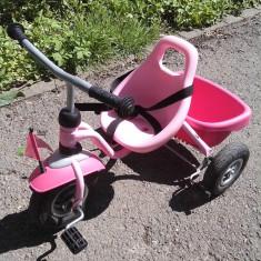 Tricicleta PUKY - Tricicleta copii Puky, Fata, Roz
