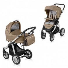 Carucior copii 2 in 1 - Carucior multifunctional 2 in 1 Lupo Comfort Beige Baby Design