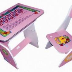 BIROU COPII CU SCAUNEL REGLABILE - Masuta/scaun copii