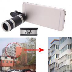 Zoom Telescopic. Lentile Telefon 8 x universal. IPHONE. SAMSUNG. NOKIA. LG. etc