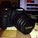VAND KIT CANON EOS 1000D + OBIECTIV EF-S 18-55mm f/3.5-5.6 - Aparat Foto Canon EOS 1100D, Kit (cu obiectiv)