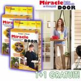 Plasa antiinsecte cu magneti Miracle Door 220x150cm 1+1 gratis