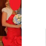 Rochie de ocazie scurta, Marime: S, Culoare: Rosu