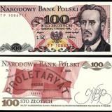Polonia 100 zl 1988 UNC