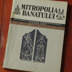 Revista Mitropolia Banatului - anul XXXIX / nr I anul 1989 / 140 pagini !!!