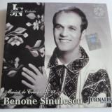 CD muzica - BENONE SINULESCU - 23 piese - C13 - Muzica Populara