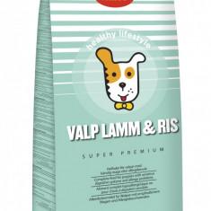 Hrana uscata Super Premium HUSSE Valp Lamm&Ris pentru caini juniori 7Kg - Mancare caini