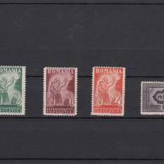 Timbre Romania, An: 1930, Nestampilat - ROMANIA 1930, LP 85, RECENSAMANTUL POPULATIEI, UNELE MICI PLIURI, LOT 1 RO