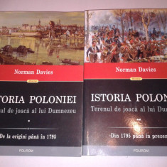 NORMAN DAVIES - ISTORIA POLONIEI ~ Terenul de joaca al lui Dumnezeu ~ Vol.1.2. - Istorie