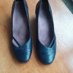 Pantofi dama, office, marimea 39, marca Clarks., Piele naturala