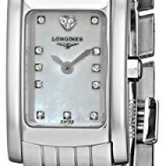 Ceas dama - Longines Women's L51584946 DolceVita Diamond-Accented Stainless | 100% original, import SUA, 10 zile lucratoare af12408