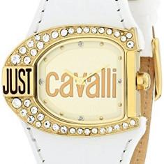 Just Cavalli Women's R7251160575 Logo Quartz   100% original, import SUA, 10 zile lucratoare af22508 - Ceas dama