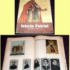 Carte Epoca de aur - Istoria Patriei, manual ilustrat clasa a IV-a 1982, amintiri Epoca de Aur