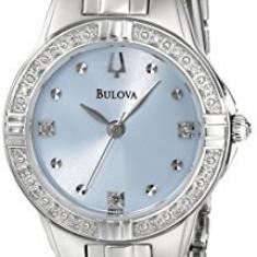 Bulova Women's 96R172 Diamond Case Watch   100% original, import SUA, 10 zile lucratoare af22508 - Ceas dama