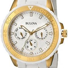 Bulova Women's 98N102 White Rubber Wrapped   100% original, import SUA, 10 zile lucratoare af22508 - Ceas dama