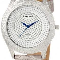 Akribos XXIV Women's AKR464GY Diamond Grey | 100% original, import SUA, 10 zile lucratoare af22508 - Ceas dama