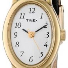 Timex Women's T21912 Cavatina Gold-Tone Watch | 100% original, import SUA, 10 zile lucratoare af22508 - Ceas dama