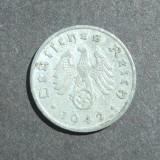 GERMANIA NAZISTA 1 FENING 1942 A, Europa, An: 1942