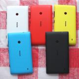 Capac baterie nou pe alb Nokia Lumia 520