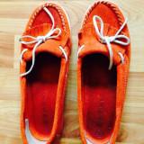 Pantofi damă Esprit, Piele intoarsa