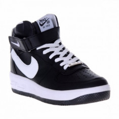 Ghete barbati - Ghete Nike air force one 1 negru-alb