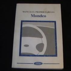 MANUALUL PROPRIETARULUI- MONDEO-268 PG-FORD- - Carti auto