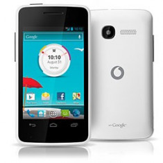 Vodafone Smart 4 mini noi white, black nou sigilat la cutie, 1an gar PRET:210lei - Telefon mobil Vodafone, Alb, Nu se aplica, Neblocat, Fara procesor